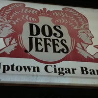Photo taken at Dos Jefes Uptown Cigar Bar by Matthew L. on 1/2/2011