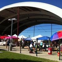 Photo taken at Browning Hangar by Jamie on 9/9/2012