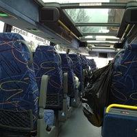 Photo taken at Megabus Station by Jen G. on 4/16/2012