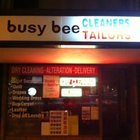 Photo taken at Busy Bee Cleaners by Tim L. on 3/16/2012