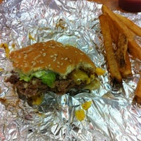 Photo taken at Five Guys by Valerie Ann O. on 8/2/2012