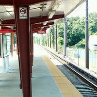 Photo taken at PATCO: Ashland Station by Brad G. on 5/26/2012