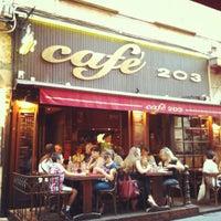 Photo taken at Café 203 by JefLive on 7/16/2012