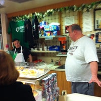 Photo taken at Carlo's Bake Shop by Leah K. on 3/11/2011