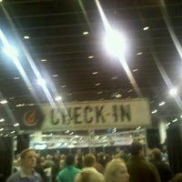 Photo taken at Rock n' Roll Marathon Expo by Lara M. on 11/4/2011