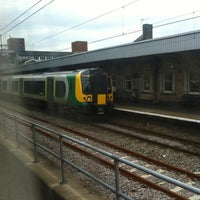 Photo taken at Nuneaton Railway Station (NUN) by Michael T. on 7/14/2012