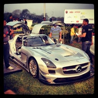 Photo taken at Mahalaxmi Race Course (Royal Western India Turf Club) by Rohan R. on 2/25/2012