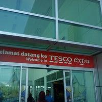 Photo taken at Tesco Extra Seremban Jaya by Sharifah M. on 8/22/2012
