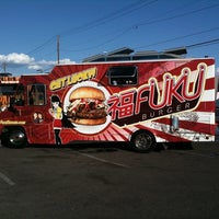 Photo taken at Fukuburger Truck by Jack Daniel J. on 9/2/2011