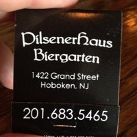Photo taken at Pilsener Haus & Biergarten by Clark B. on 5/26/2012