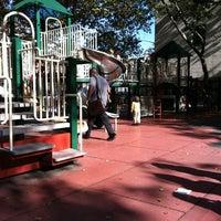 Photo taken at Augustus Saint-Gaudens Playground by Jeffrey Z. on 10/17/2011
