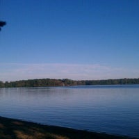 Photo taken at Wequaquet Lake by Marcos C. on 9/9/2011
