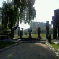 Photo taken at Parque de las Esculturas by Chongo on 10/23/2011