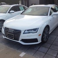 Photo taken at Audi North Houston by Nikesh P. on 6/21/2012
