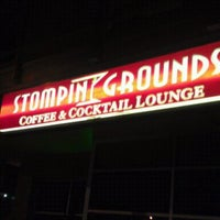 Photo taken at Stompin' Grounds Coffee & Cocktail Lounge by Yellastud on 9/16/2011
