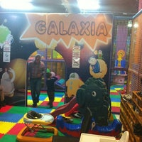 Photo taken at Galaxia by Luis D. on 4/3/2012