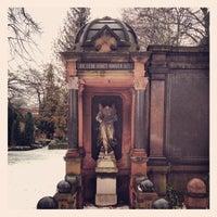 Photo taken at Georgen-Parochial Friedhof II by Donald B. on 2/21/2012