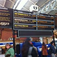 Photo taken at London Marylebone Railway Station (MYB) by Edith V. on 4/16/2012