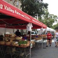 Photo taken at FRESHFARM Market by the White House by Marúsia F. on 8/9/2012
