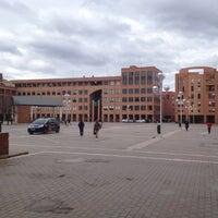 Photo taken at Plaza de la Remonta by Luis R. on 2/14/2012