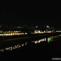 Photo taken at 四条大橋 by rie530 (big_sis_rie) on 6/4/2012