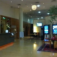Photo taken at Clayton Hotel by Ana S. on 5/13/2012