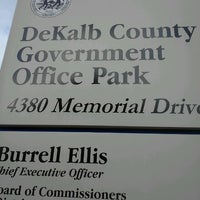 Photo taken at DeKalb County Tax Commissioner's Office by Kedric K. on 4/19/2012