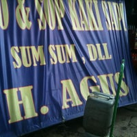 "Photo taken at Sop & Soto Sumsum ""Agus"" by Akbar I. on 4/4/2012"
