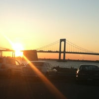 Photo taken at Throgs Neck Bridge Lookout Parking Lot by christopher g. on 7/3/2012