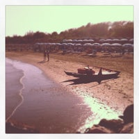 Photo taken at Bagni Pippo Garbisa by Arianna C. on 8/25/2012