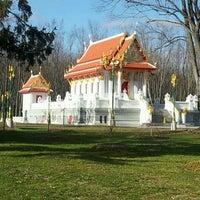 Photo taken at Wat Mongkoltepmunee (Thai Buddhist Temple) by Joey P. on 12/26/2011