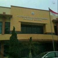Photo taken at Kantor Pelayanan Pajak Pratama Cikarang Selatan by Ario P. on 10/5/2011