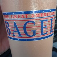 Photo taken at Great American Bagel by Chad on 6/30/2012