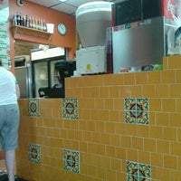 Photo taken at Pancho's Burritos by Caitlin O. on 8/29/2012