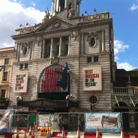 Photo taken at Victoria Palace Theatre by Luis M. on 6/15/2012
