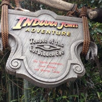 Photo taken at Indiana Jones Adventure by Aisha M. on 7/6/2012