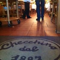 Photo taken at Checchino dal 1887 by Morena M. on 4/9/2012