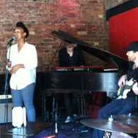 Photo taken at Rockwood Music Hall by Yiannis on 5/19/2012