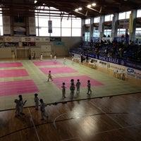 Photo taken at Palazzetto Dello Sport by Antonello B. on 4/15/2012