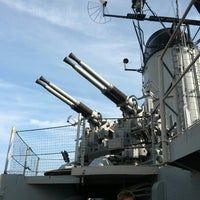 Photo taken at USS Cassin Young by Patrick H. on 8/25/2012