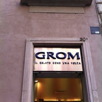 Photo taken at Grom by Giovambattista F. on 3/31/2012