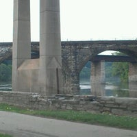 Photo taken at Falls Bridge by Detrick L. on 5/30/2012