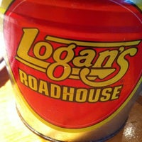 Photo taken at Logan's Roadhouse by Daniel F. on 1/5/2012