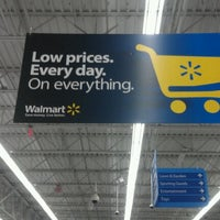 Photo taken at Walmart Supercenter by Carion M. on 10/20/2011