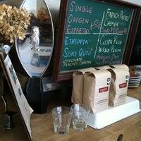 Photo taken at Cafe Pedlar by Danielle N. on 5/8/2011