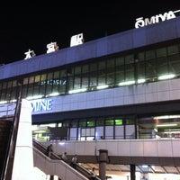 Photo taken at Ōmiya Station by Kayne on 4/30/2012