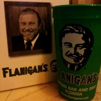 Photo taken at Flanigan's Seafood Bar & Grill by Charlotte C. on 10/18/2011