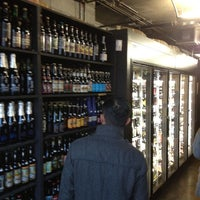 Photo taken at City Beer Store by Aaron K. on 5/5/2012