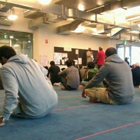Photo taken at The George Swinburne Building (GS) by Osama J. on 10/21/2011