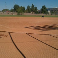 Photo taken at Kiwanis Park Softball Complex by Brian H. on 10/15/2011